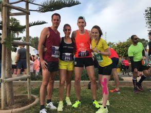 MarathonSquad; Sunny, Petra en Celeste